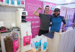 Pioneer Foodservice | Food show 2017 | Bruce & Luke's Coffee | Carlisle Cumbria