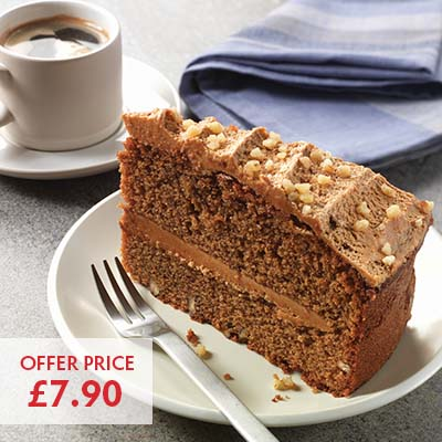 Pioneer Foodservice | Chefs Selections by Caterforce | Chocolate Walnut cake | Carlisle, Cumbria