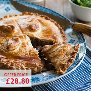 Pioneer Foodservice | Large Steak Pie | Carlisle, Cumbria