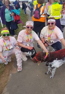 Pioneer Foodservice | Eden Valley Hospice | Colour Run | Carlisle, cumbria