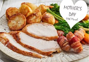 Pioneer Foodservice | Mother's day 2018 | roast dinner