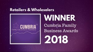 Pioneer Foodservice | Cumbria Family Business Awards | Retailer & Wholesaler winner