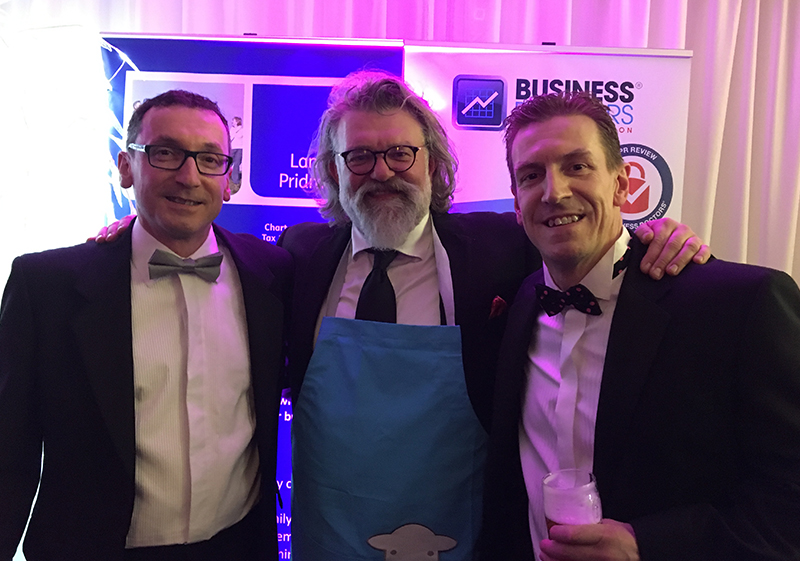 Pioneer Foodservice | Cumbria Family Business Awards 2018 | Hairy Biker Simon King Graham Jenkins | David Jenkins