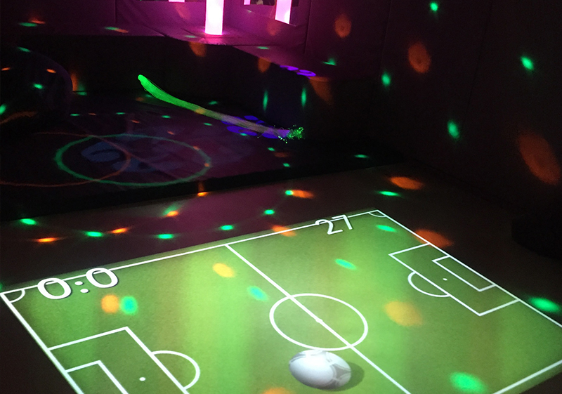 Pioneer Foodservice | Carlisle Youth Zone | sensory room | Carlisle, Cumbria