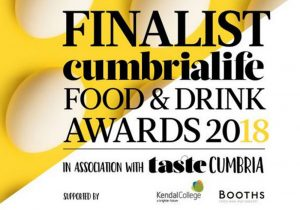 Pioneer Foodservice | Cumbria Life Food and Drink Awards 2018