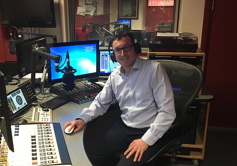 Pioneer Foodservice | Cumbrian family businesses | Graham Jenkins | David Jenkins | Radio Cumbria, Carlisle