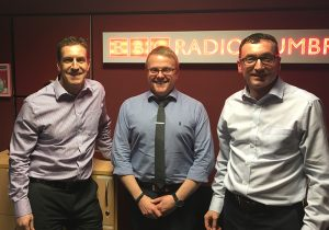 Pioneer Foodservice | Cumbrian family businesses | Graham Jenkins | David Jenkins | Radio Cumbria, Carlisle