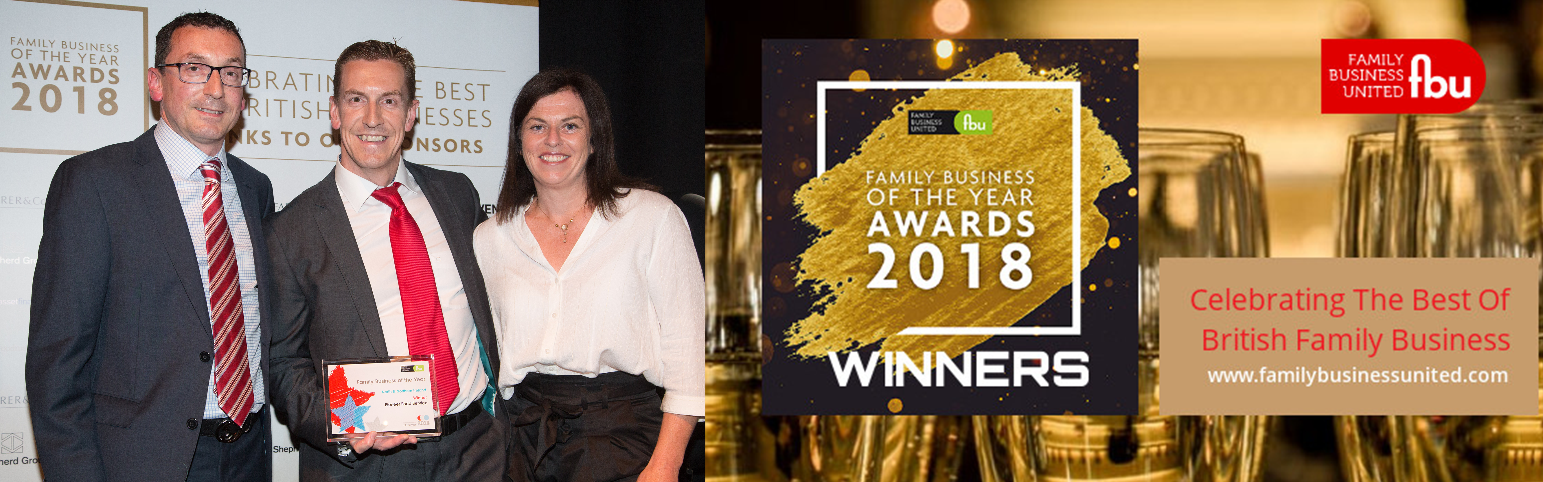 Pioneer Foodservice | Family Business of the Year 2018 | award winners