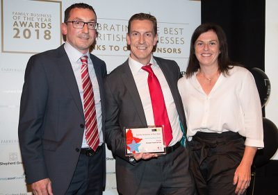 Pioneer Foodservice | Family Business Awards 2018 |award winners