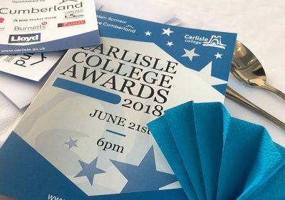 Pioneer Foodservice | Carlisle College Awards 2018