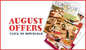 Pioneer Foodservice | Flavour of the month | August offers