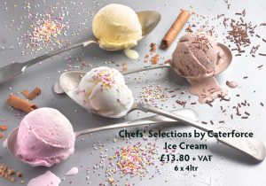 Pioneer Foodservice | Chefs Selections by Caterforce | ice cream