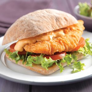 Pioneer Foodservice | chicken burger | ciabatta | Chefs' Selections by Caterforce