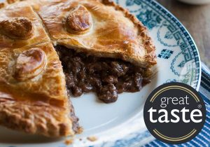 Pioneer Foodservice | steak pie | great taste awards 2018 | Carlisle, Cumbria