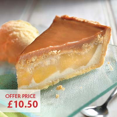 Pioneer Foodservice | Chefs Selections | Caterforce | Caramel apple pie | Carlisle, Cumbria