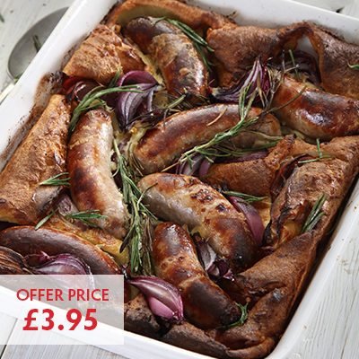 Pioneer Foodservice | Cumberland Sausage | Toad in the hole | Carlisle, Cumbria