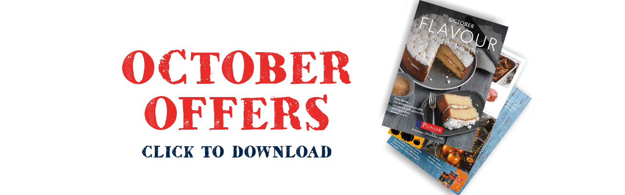 Pioneer Foodservice | October Flavour of the month | offers | Carlisle, Cumbria