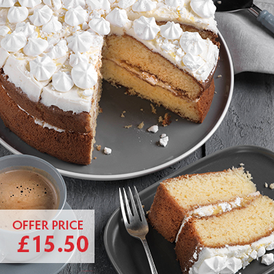 Pioneer Foodservice | Propermaid | Lemon Meringue cake | Carlisle, Cumbria