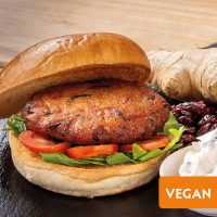 Pioneer Foodservice | Scheff Foods Sloe Gin, Parsnip, Ginger & Cranberry Burgers | Festive offers | Christmas offers
