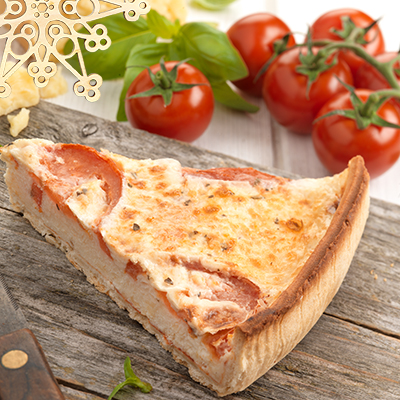 Pioneer Foodservice | Tomato & Basil Quiche | Chefs Selections | Festive offers | Christmas offers