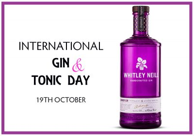 Pioneer Foodservice | Whitley Neill Gin | International Gin & Tonic Day | Carlisle, Cumbria