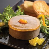 Pioneer Foodservice | Pyman Pates duck liver parfait with orange & cointreau