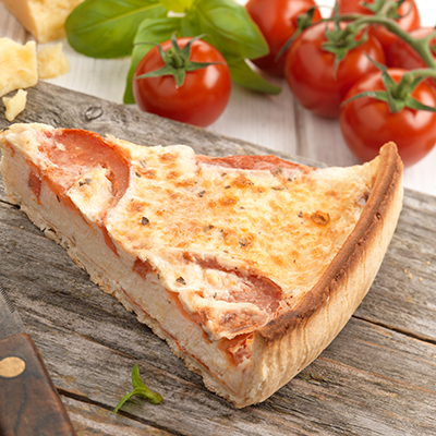 Pioneer Foodservice | Chefs Selections Tomato & Basil quiche