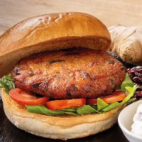 Pioneer Foodservice | Scheff Foods Sloe gin Parsnip ginger & cranberry burgers