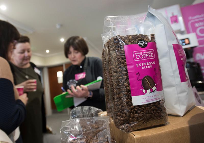 Pioneer Foodservice   Bruce & Luke's coffee   food show   Carlisle, Cumbria