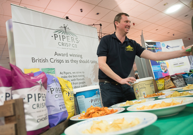 Pioneer Foodservice | Pipers Crisps | Food show | Carlisle, Cumbria
