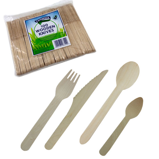Pioneer Foodservice | RT Caterpack | wooden cutlery | Carlisle, Cumbria