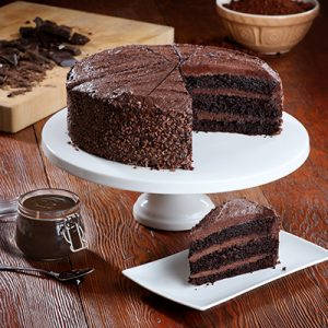 Pioneer Foodservice | The Handmade Cake Co | Vegan Belgian Chocolate Fudge Cake