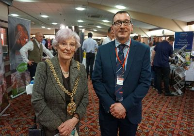 Pioneer Foodservice | Food Show 2019 | Mayoress of Carlisle | Cllr Jessica Riddle
