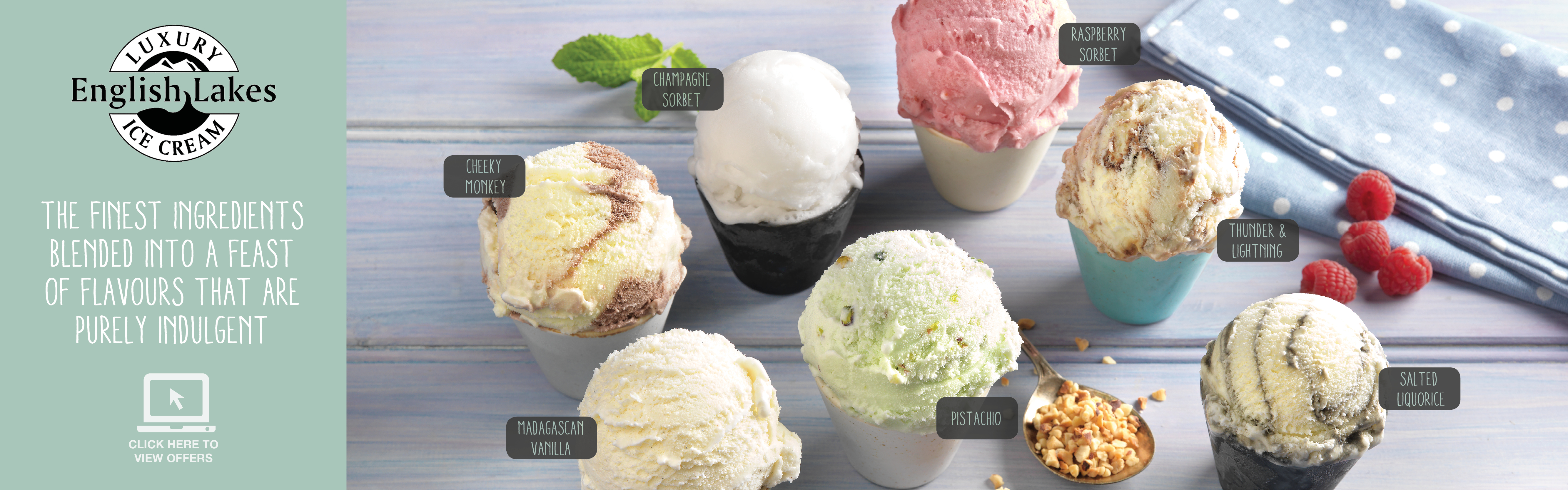 Pioneer Foodservice | English Lakes Ice Cream | April offers