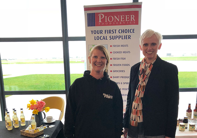 Pioneer foodservice | International Women's Day 2019 | Carlisle Airport | Molly Rose Drinks