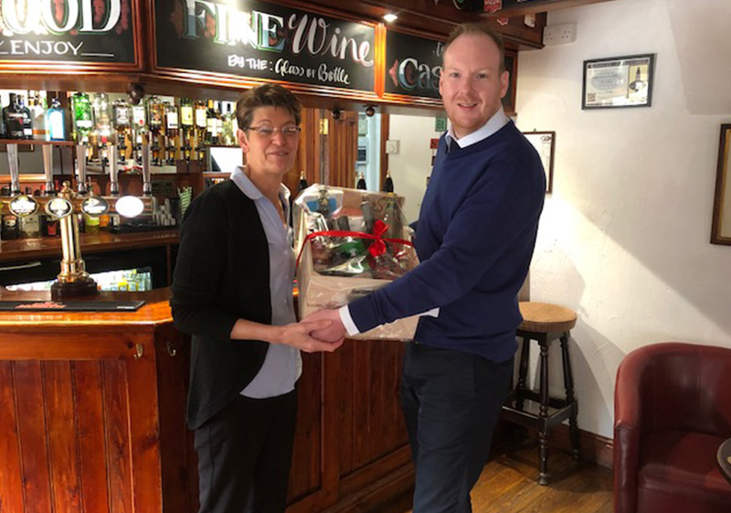 Pioneer Foodservice | hamper winner | Farmers Arms, Portinscale