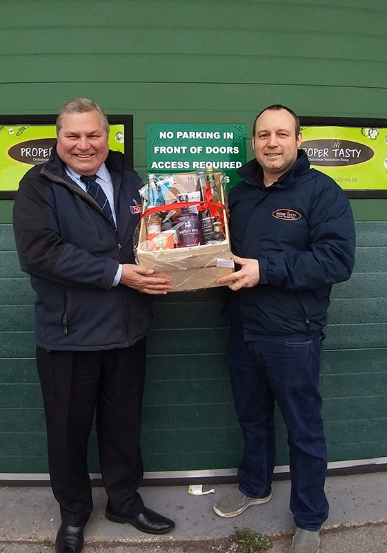 Pioneer Foodservice | food show hamper winner | Proper Tasty
