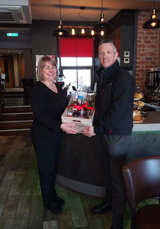 Pioneer Foodservice | food show hamper winner| Tarff
